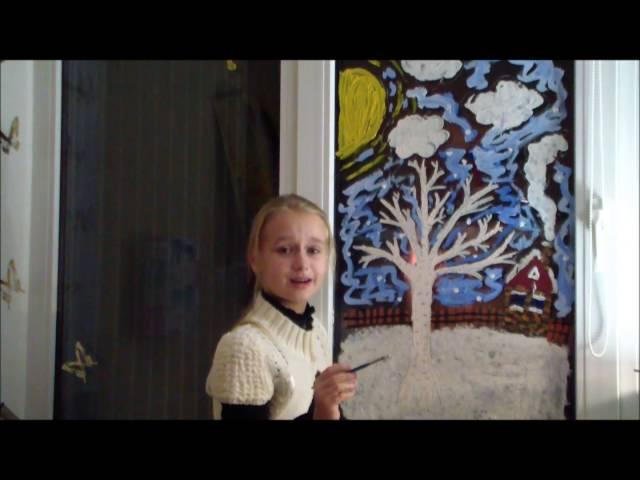 Изображение предпросмотра прочтения – ДарьяЗолотухина читает произведение «Первый снег (Серебро, огонь и блёстки…)» В.Я.Брюсова