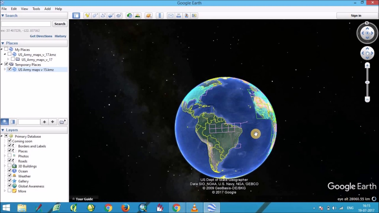 How To Download Topographic Maps From Google Earth YouTube - Us topo maps for google earth