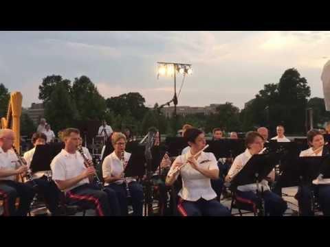 "7/27/16 ""March, 'The Picador,'"" John Philip Sousa, US Marine Band"