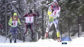 Лыжные гонки. Чемпионат России-2017. Мужчины. Эстафета