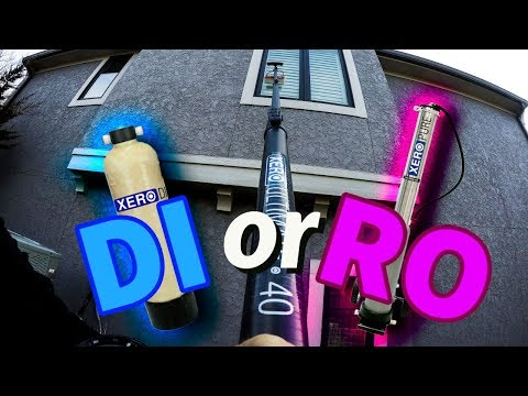 DI or RO - Pure Water Window Cleaning Systems