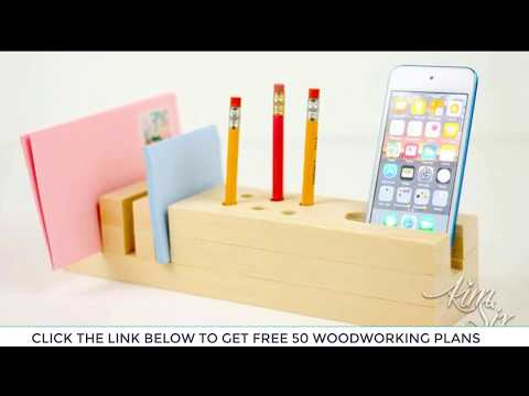 40 Simple Woodworking Ideas For Beginners - Free Woodworking Plans