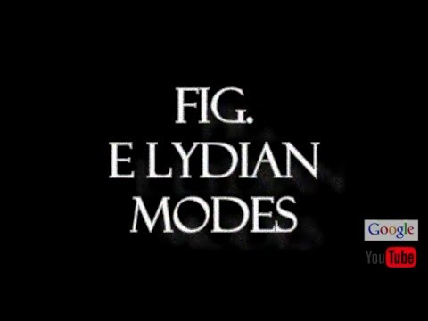 Fig E Lydian Modes