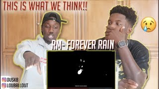 RM 'forever rain' MV (REACTION) | FO Squad Kpop