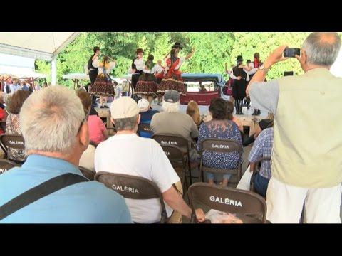 Folklór program a Hévízi Termelői Piacon