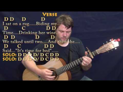 Norwegian Wood (The Beatles) Strum Guitar Cover Lesson with Chords/Lyrics - Capo 2nd