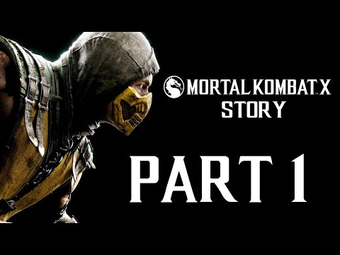 """Mortal Kombat X - Story - Let's Play - Part 1 - [Johnny Cage] - """"A Little Tap's All You Need"""""""
