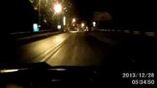 Вот так в Рославле ездят ночью