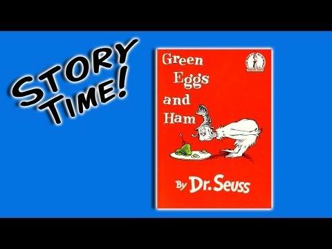 Green Eggs and Ham by Dr. Seuss (books for preschoolers)