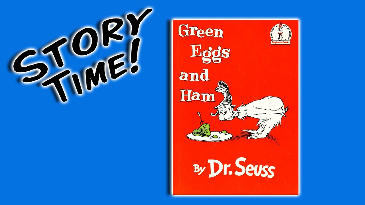 Green Eggs And Ham By Dr Seuss Books For Preschoolers Youtube