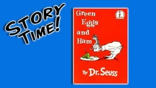 Repeat youtube video Green Eggs and Ham by Dr. Seuss (books for preschoolers)