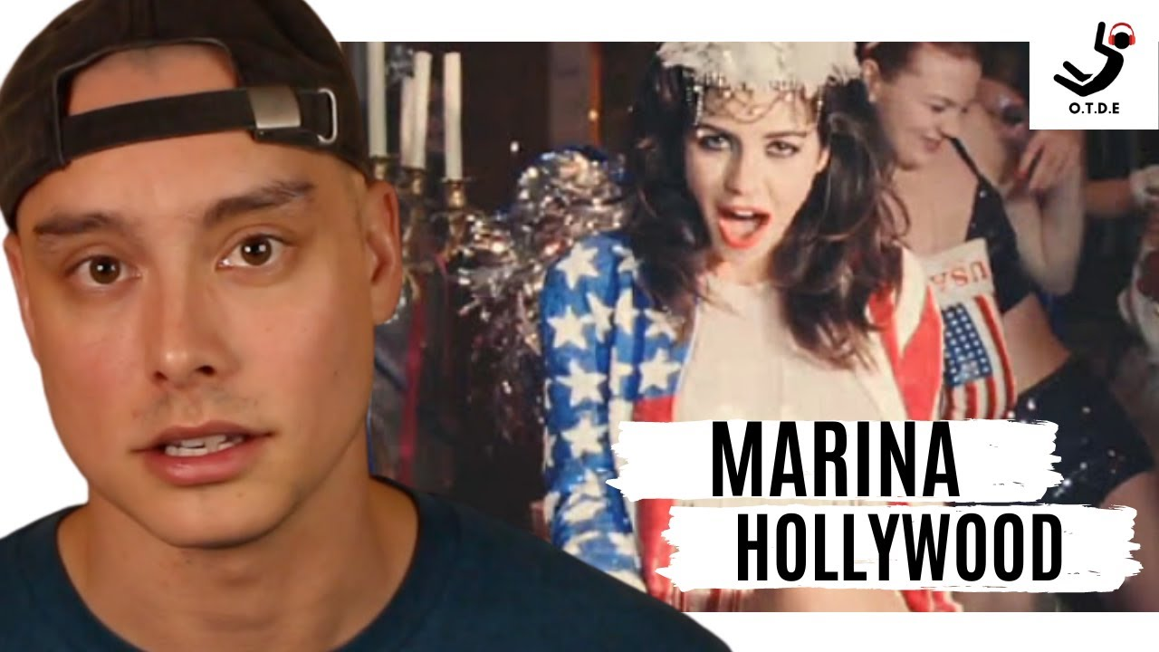 Download Marina And The Diamonds - Hollywood (Music Video) || 1st Reaction & Breakdown