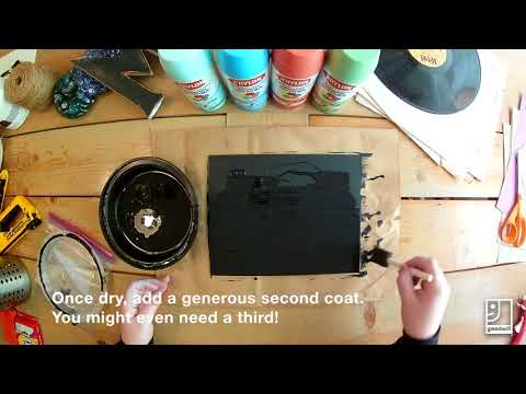 How-To: Create a DIY Chalkboard From a Thrifted Picture Frame