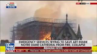 SHEPARD SMITH CUTS OFF PHILIPPE KARSENTY ON POSSIBLE NOTRE DAME TERRORISM