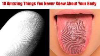 10 Amazing Things You Never Knew About Your Body