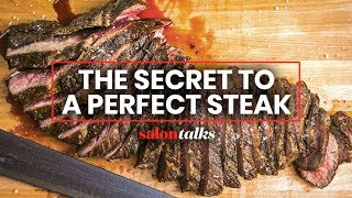 Texas BBQ expert Aaron Franklin's tips for grilling the perfect steak at home