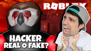 AMON_40L un *HACKER in Roblox* Mysteries in Roblox #1 Rovi23