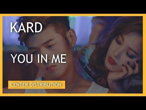 KARD (카드) - YOU IN ME (유인미) [Center Distribution]