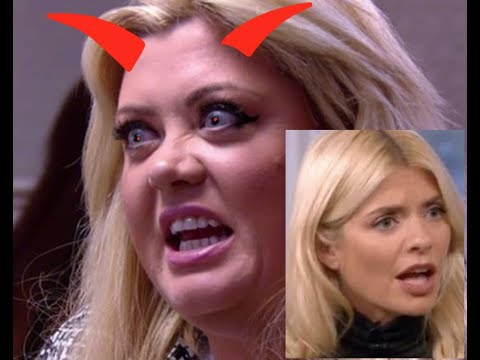 Holly Willoughby slamming