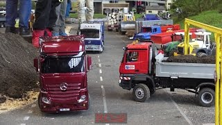 R/C trucks and construction machines at Faszination Modellbau Friedrichshafen 2016 part 2