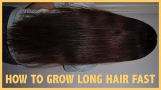 My Tips for Growing Long Hair Fast