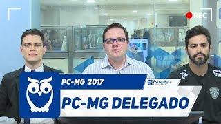 Concurso PC-MG - Carreira de Delegado da Polícia Civil de Minas Gerais