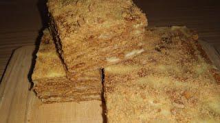 Медовый торт без пшеничной муки, без глютена
