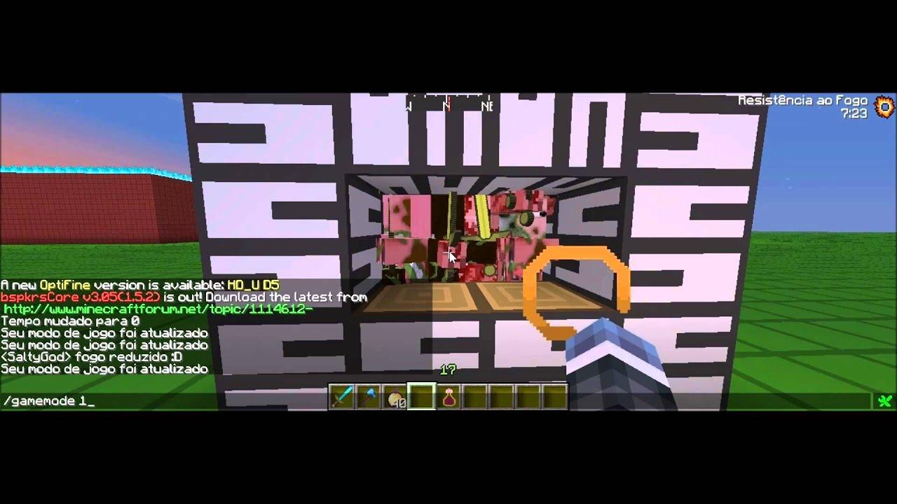Texture Pack Para Minecraft 1.5.2 De PvP - YouTube