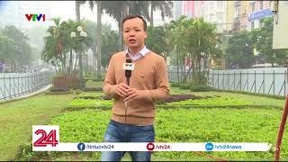 HÀ NỘI THU GỌN DẢI PHÂN CÁCH ĐƯỜNG NGUYỄN CHÍ THANH | VTV24