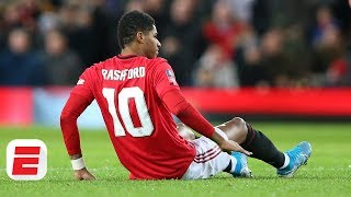 Will Manchester United add a striker with Marcus Rashford out  Transfer Rater