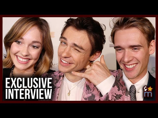 Thomas Doherty, Juliet Doherty & Harry Jarvis Joke About NOT Being Related & Reveal Inspirations