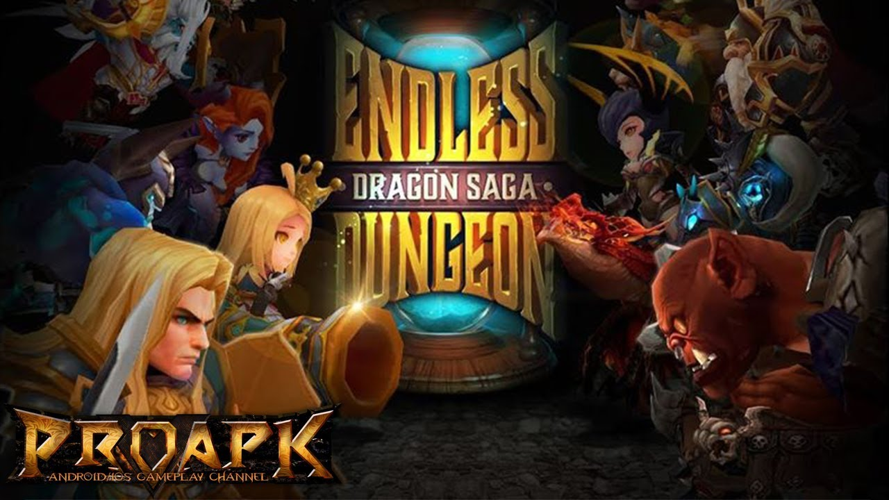 ENDLESS DUNGEON: DRAGON SAGA Android Gameplay