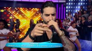 Maluma - Borro Cassette, Chantaje (Ao vivo) | Hora do Faro | HD