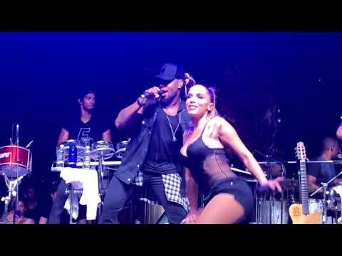 Tic Nervoso - Anitta e Harmonia do Samba Ao Vivo no Ensaio do Bloco das Poderosas (14/01/2018)