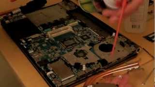 Sony Laptop Heatsink Cleaning/Replacement