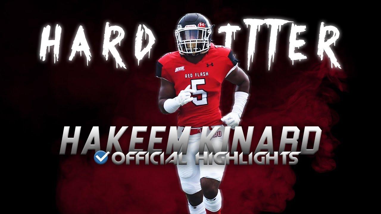 "Hardest Hitter in College Football - Hakeem ""The Missle"" Kinard SFA Highlights ᴴᴰ"