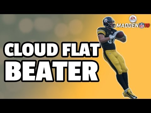 How to beat Cloud Flats in Madden 18 - Smart Route Combo
