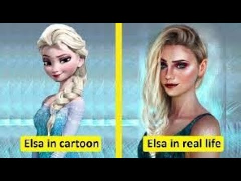 Download 20 cartoon characters in real life That Exist in Real. Life #part2