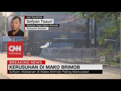 Mantan Napi Mako Brimob: Detik-detik Kerusuhan Mako Brimob Disiarkan Live Instagram & FB oleh Pelaku