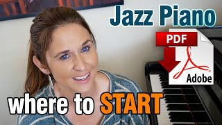 jazz piano where to start ii v7 is with 3rds 7s