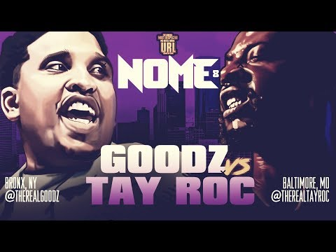 TAY ROC VS GOODZ SMACK/ URL RAP BATTLE | URLTV