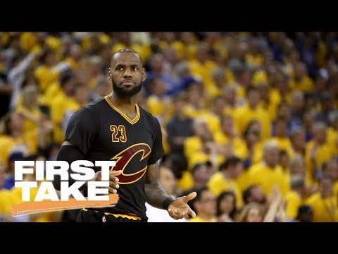 LeBron James: 'I Don't Believe I've Played For A Super Team' | First Take | June 14, 2017