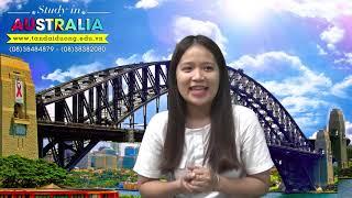 Chia sẻ ước mơ du học Úc của em Thu Hiền