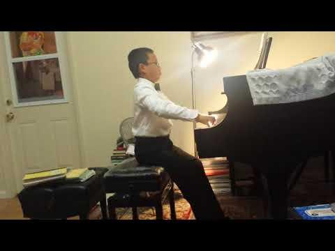 Charles Wang plays Antonio Diabelli's Sonatina Op. 151, #1, 3rd Movement