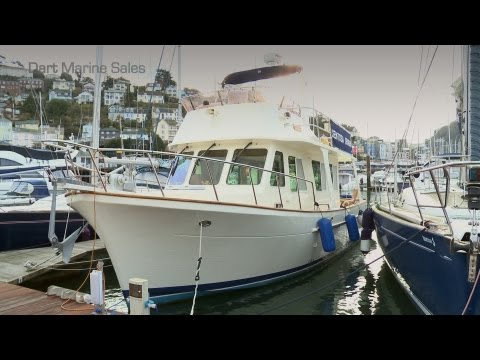 Yacht For Sale - Faroe 36' Trawler Yacht