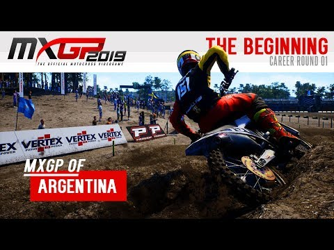 MXGP 2019 - Career Gameplay | Neuquen - MXGP Of Argentina - RD1