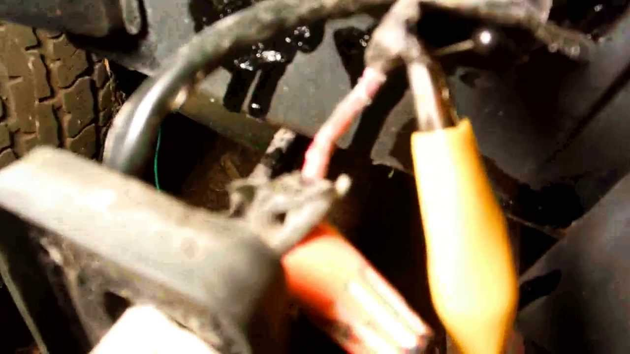 Troubleshoot Side Marker Light Wiring Youtube 89 Jeep Cherokee Headlight Diagram
