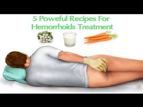 Hemorrhoids Home Treatment   Relief Recipes - natural health cures
