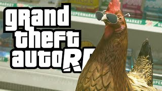 The Drill Sergeant Becomes a Chicken (GTA 5 RP Multiplayer RolePlay)
