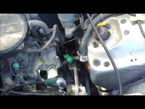 How to replace drive belt Honda Civic. Years 1992 to 2011.